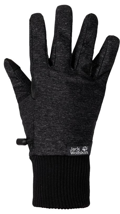 Jack Wolfskin Winter Travel Glove Women - black