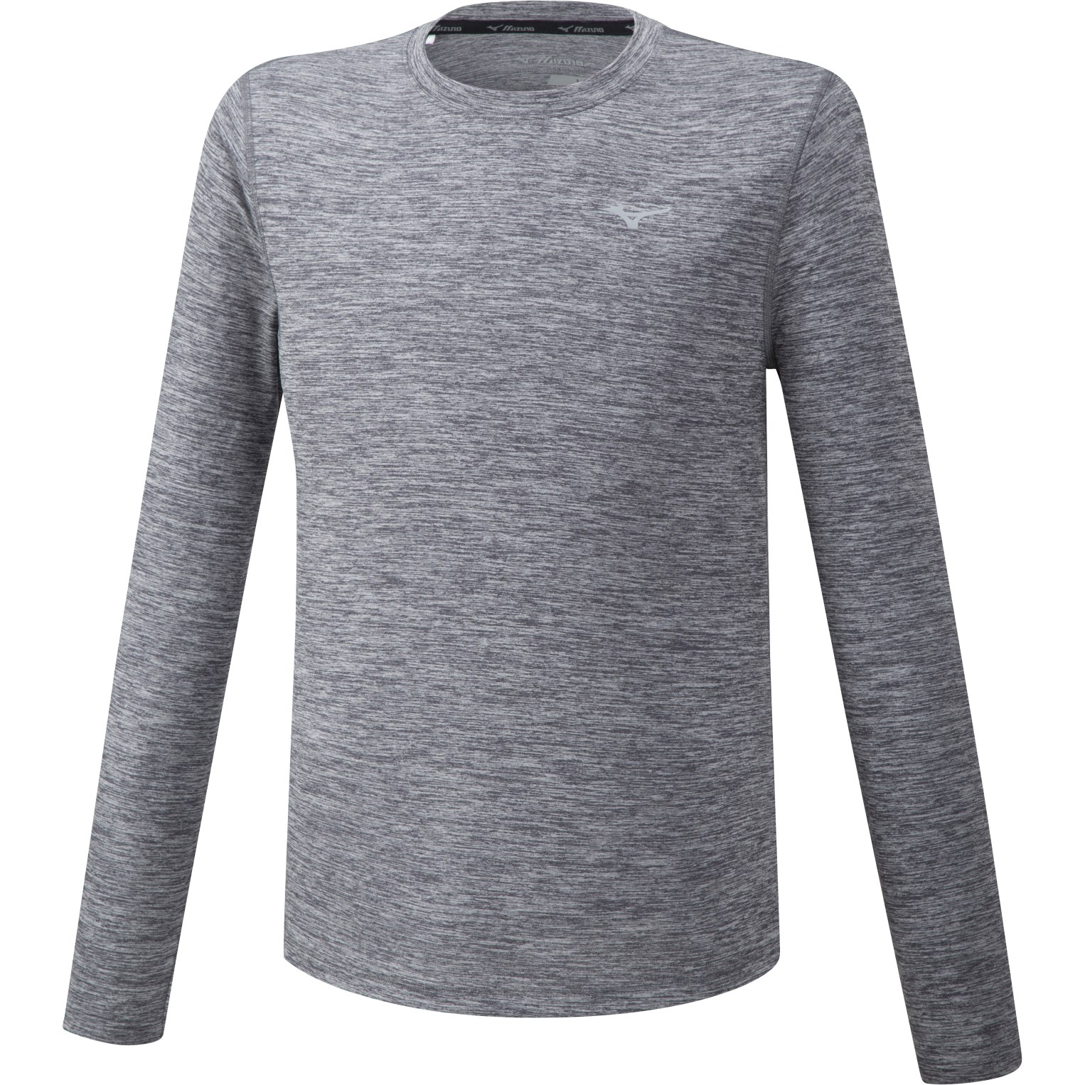 Mizuno Impulse Core Long-Sleeve Shirt - Magnet