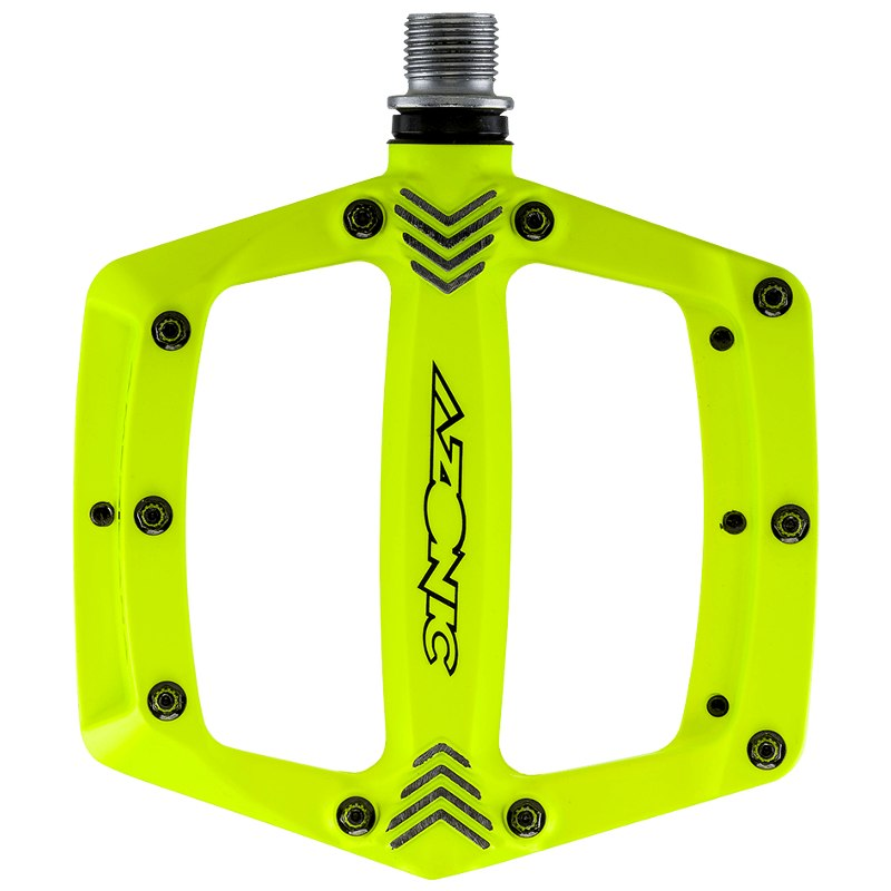 Azonic Americana Pedal - neon yellow