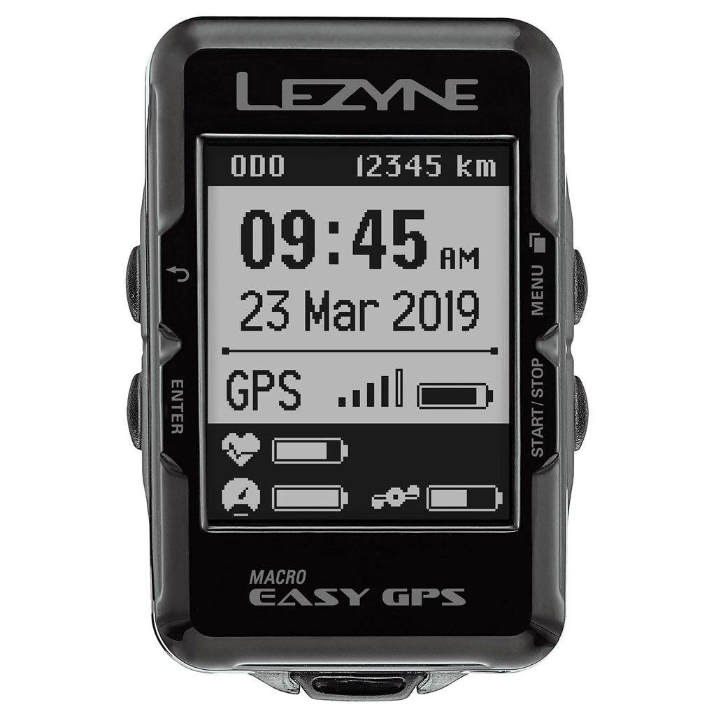Image of Lezyne Macro Easy GPS Cycling Computer