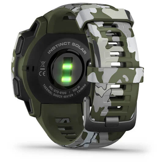 Bild von Garmin Instinct Solar Camo GPS Smartwatch - grün
