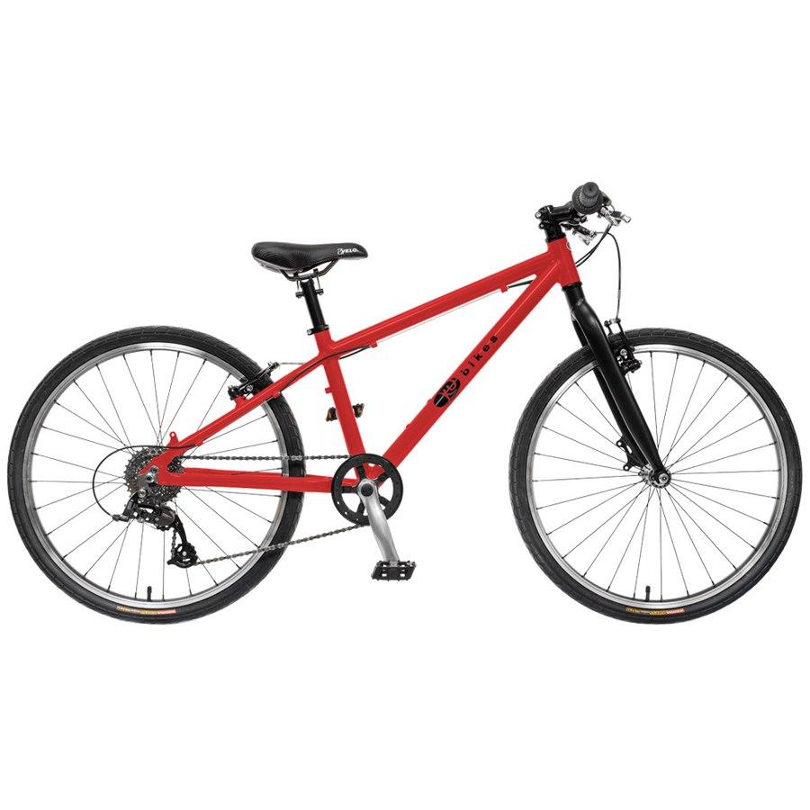 KUbikes 24L TOUR 8-Speed Kids Bike - red
