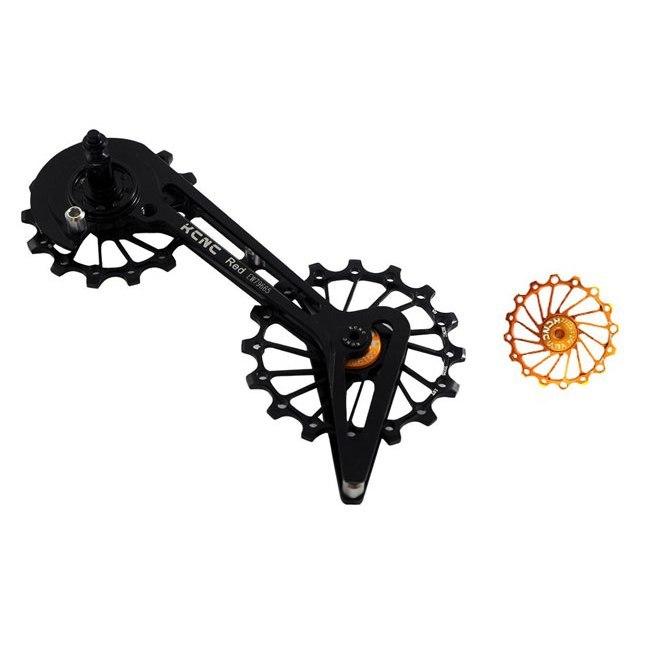 KCNC Jockey Wheel System - Pulley Wheels with Ceramic Bearings for Shimano 8000/9100