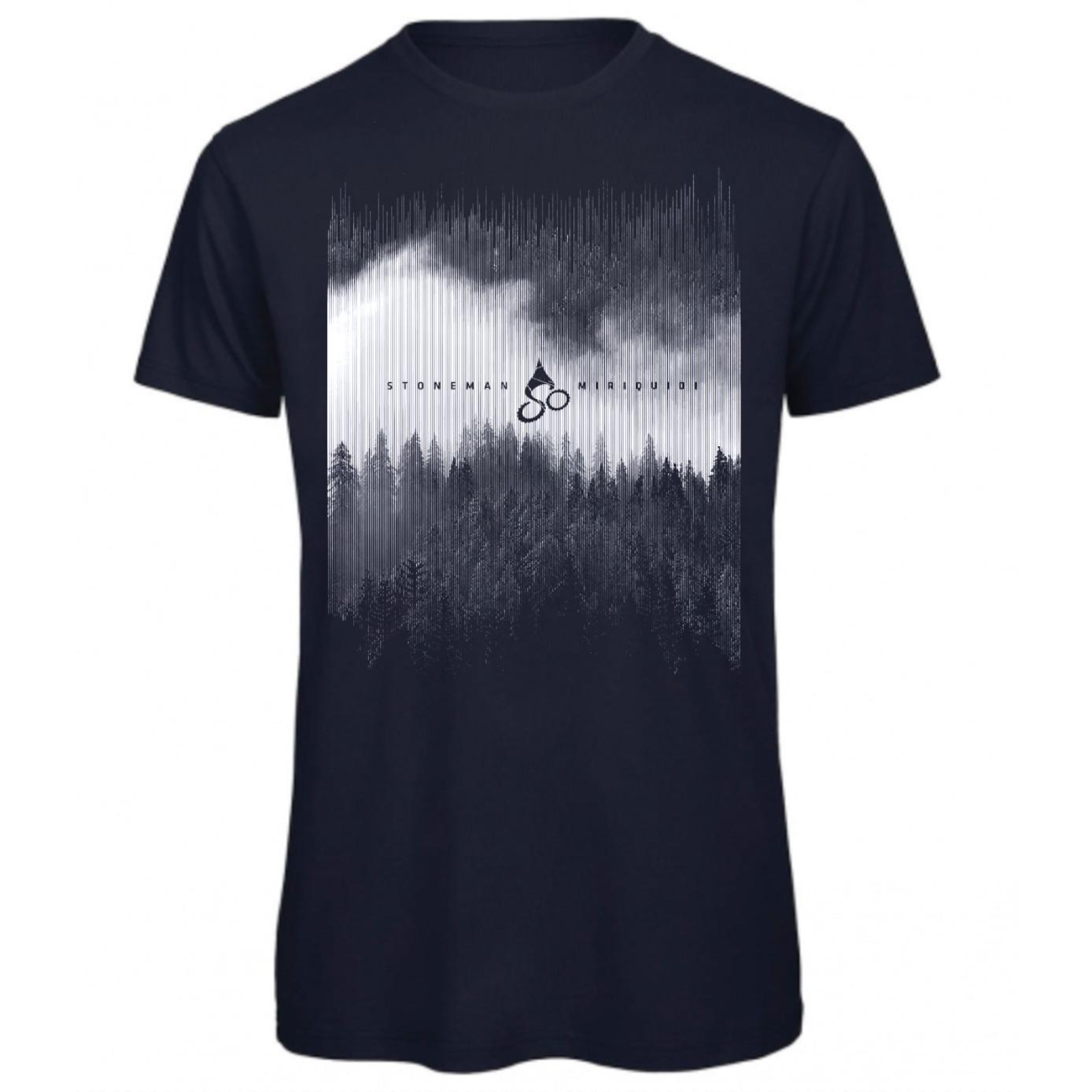 Stoneman Miriquidi »Dunkelwald« Männer T-Shirt - navy