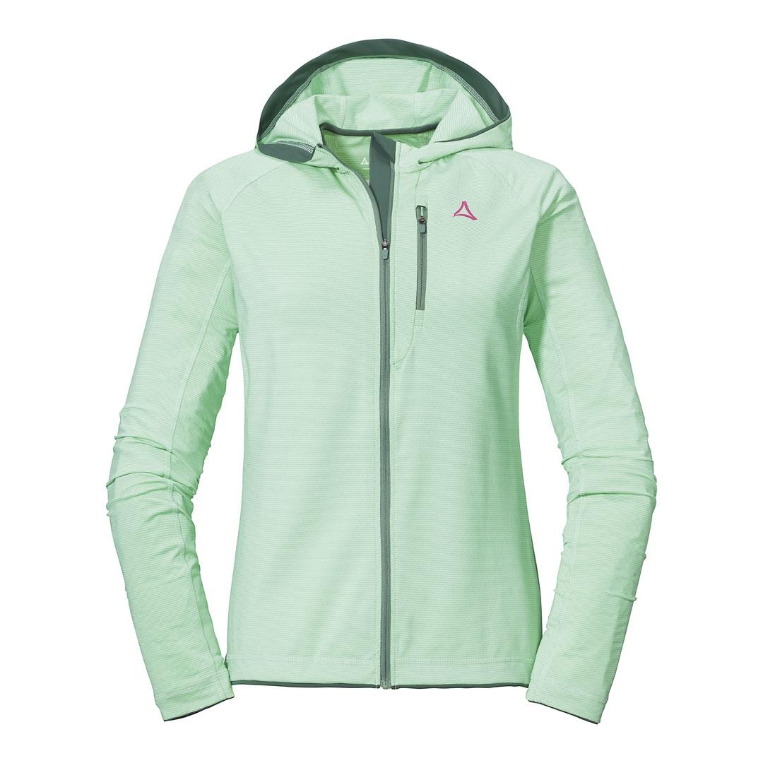 Schöffel Fjordland Women's Fleece Jacket - patina green 6060