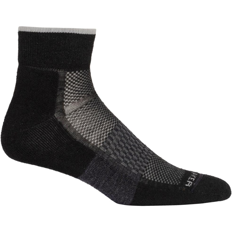 Produktbild von Icebreaker Multisport Light Mini Herren Socken - Black