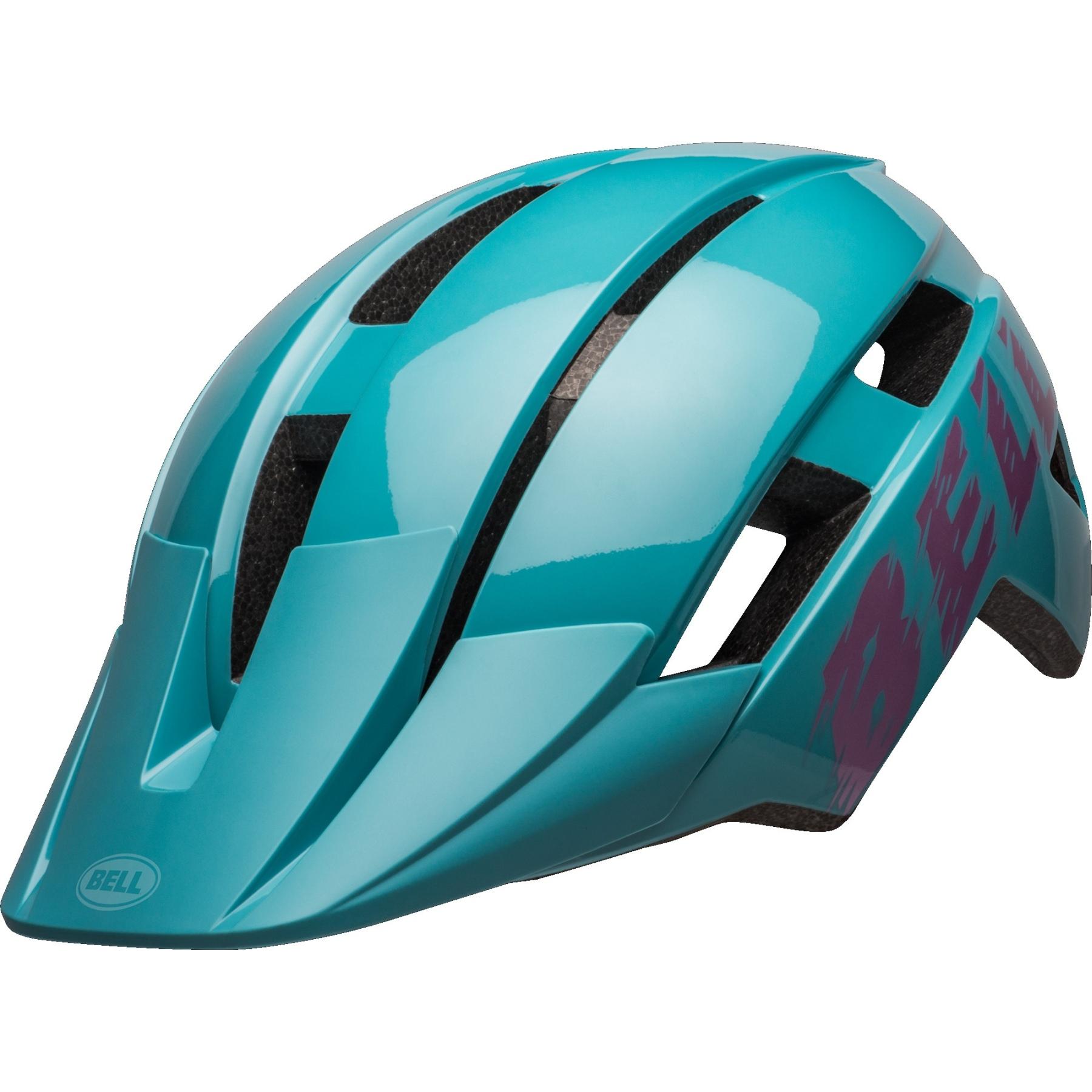 Bell Sidetrack II MIPS Kinderhelm - buzz gloss light blue/pink