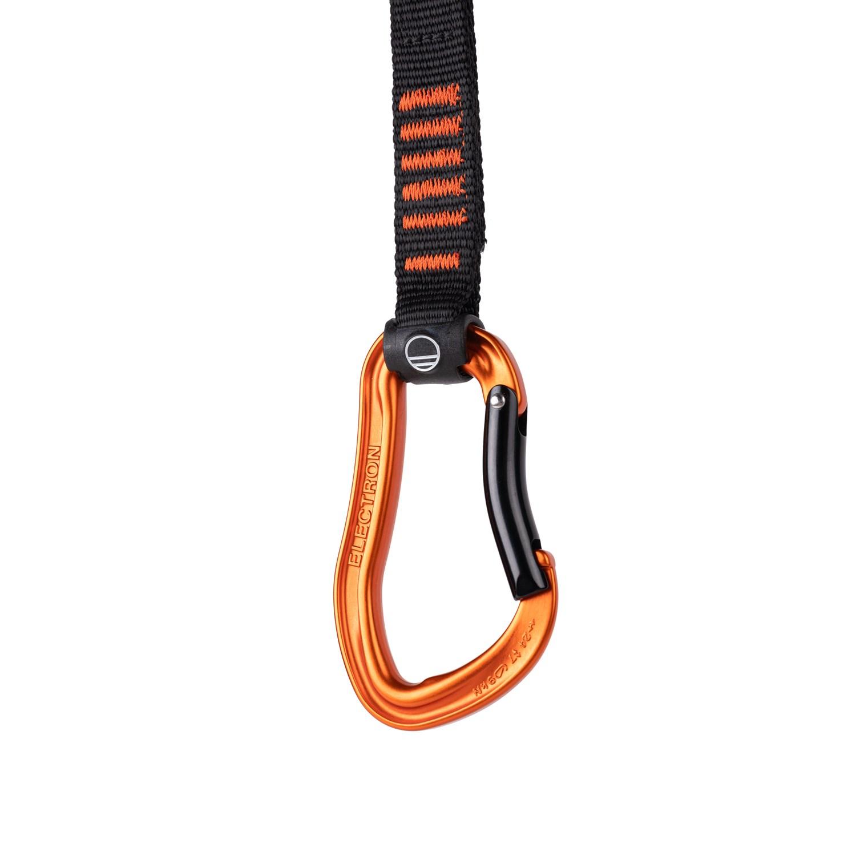 Bild von Wild Country Electron Sport Draw Express-Set 17 cm - Orange/Black