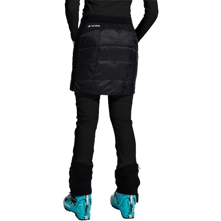 Image of Vaude Women's Sesvenna Reversible Skirt - black/white