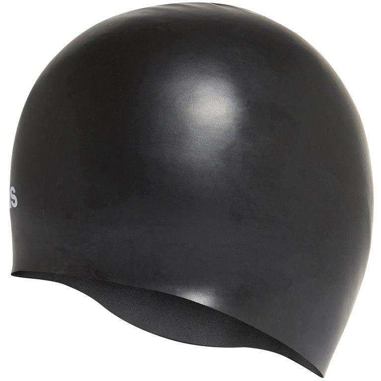 Foto de adidas Silicone Logo Swim Cap - black/white FJ4964