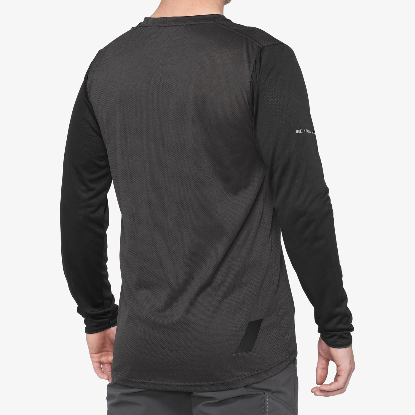 Imagen de 100% Ridecamp Long Sleeve Jersey - Black / Charcoal