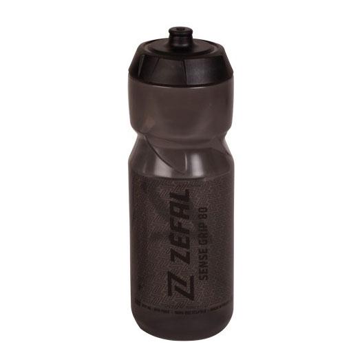 Zéfal Sense Grip 80 Trinkflasche 800ml - smoked black/black