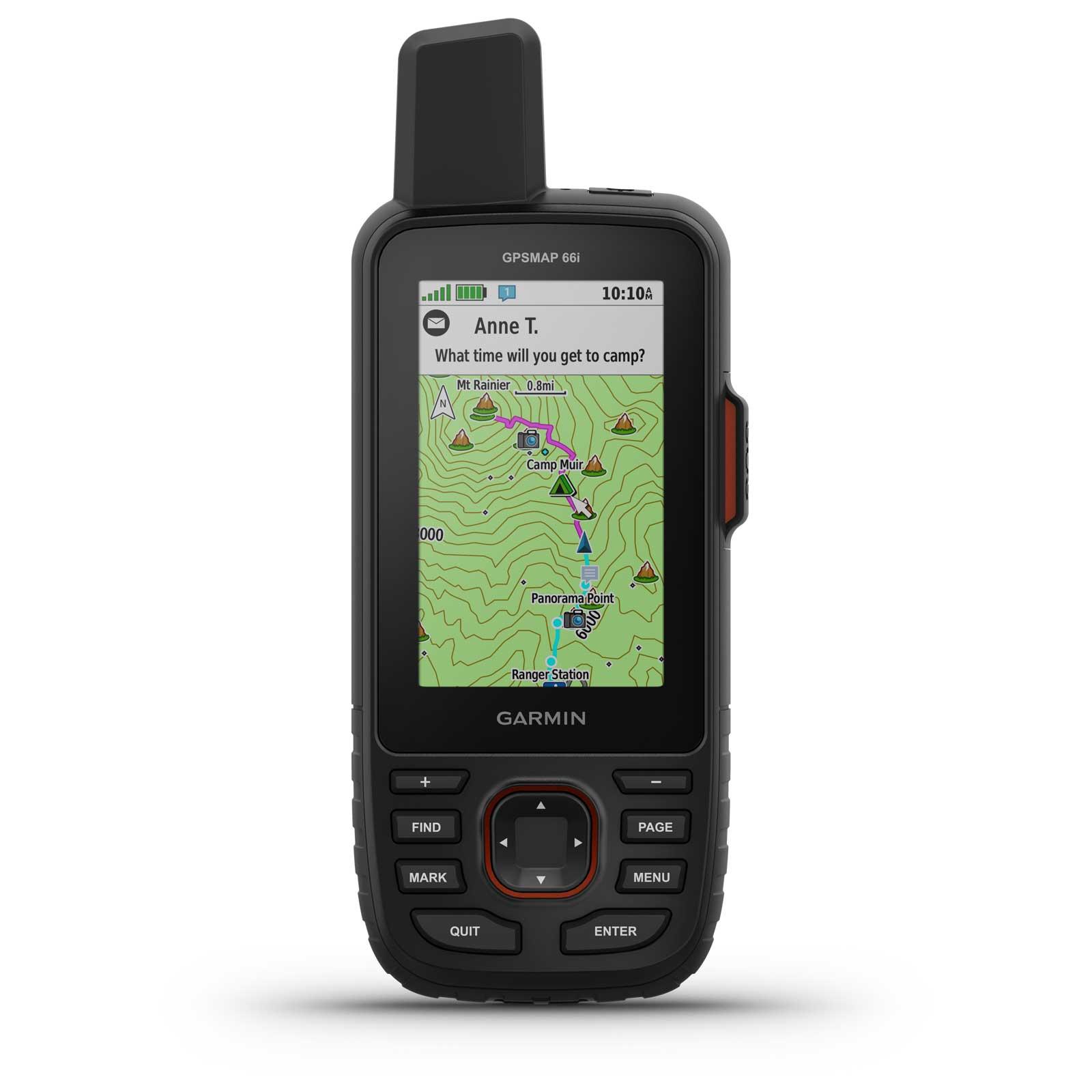 Garmin GPSMAP 66i Hand-Navigationsgerät + TopoActive Europa-Karte