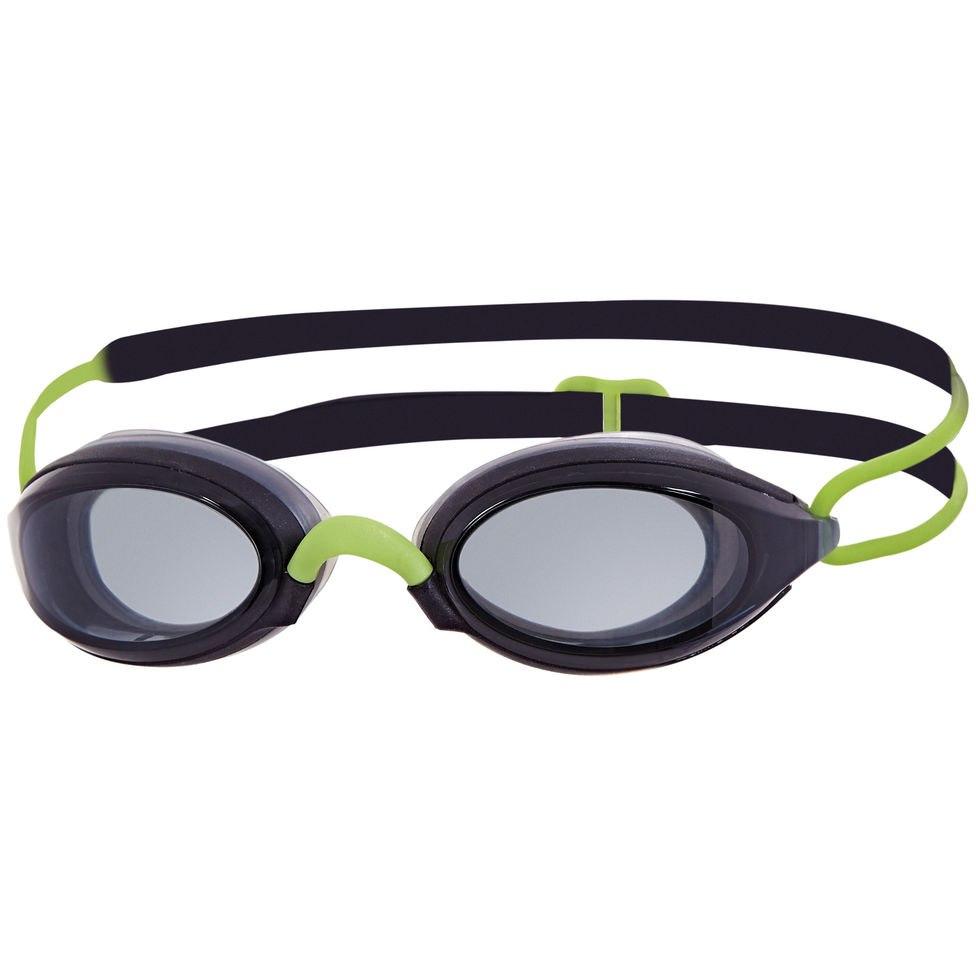 Zoggs Fusion Air Schwimmbrille - Black/Green/Smoke