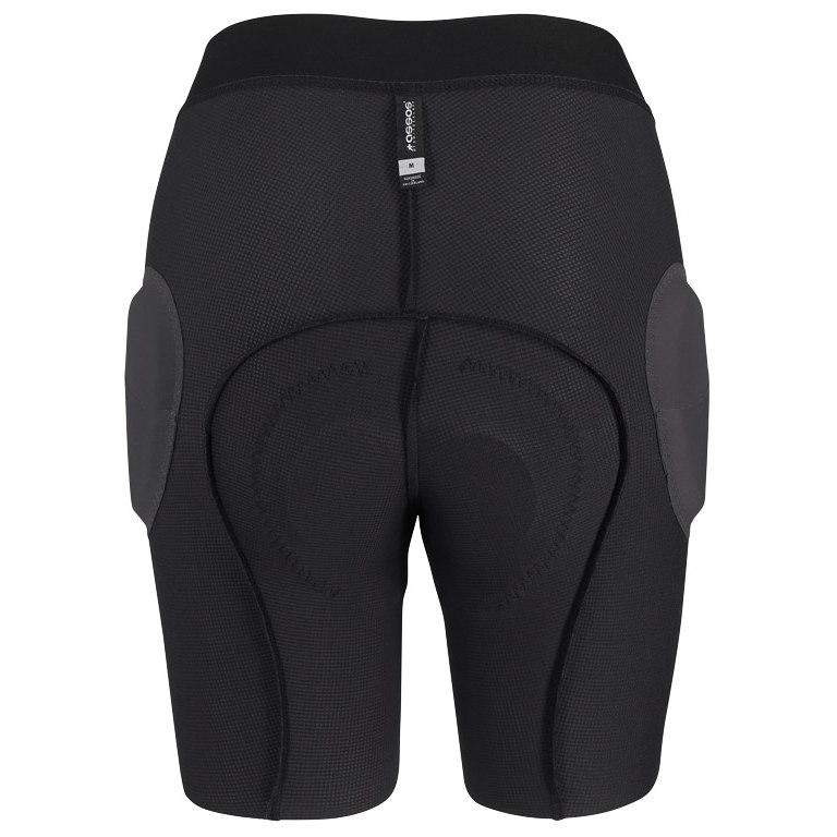 Image of Assos TRAIL Womens Liner Shorts - blackSeries