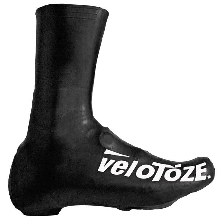 veloToze Tall Shoe Cover Road - black
