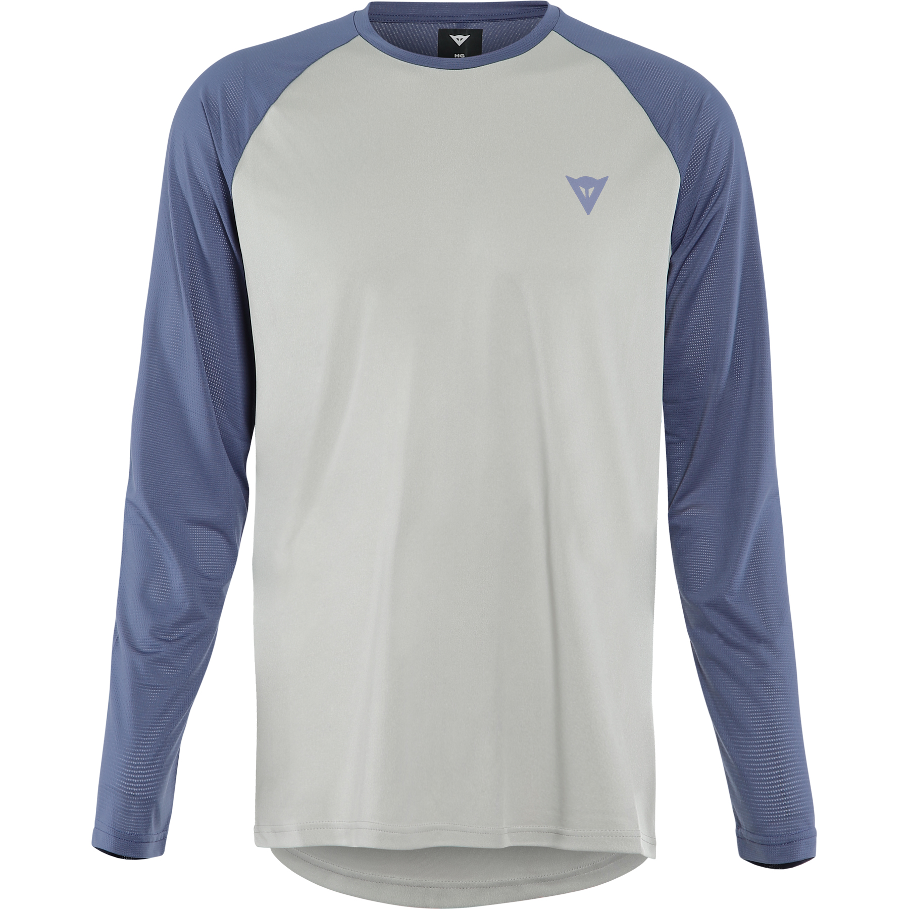 Picture of Dainese HG Tsingy Long-Sleeve Jersey - light gray/blue