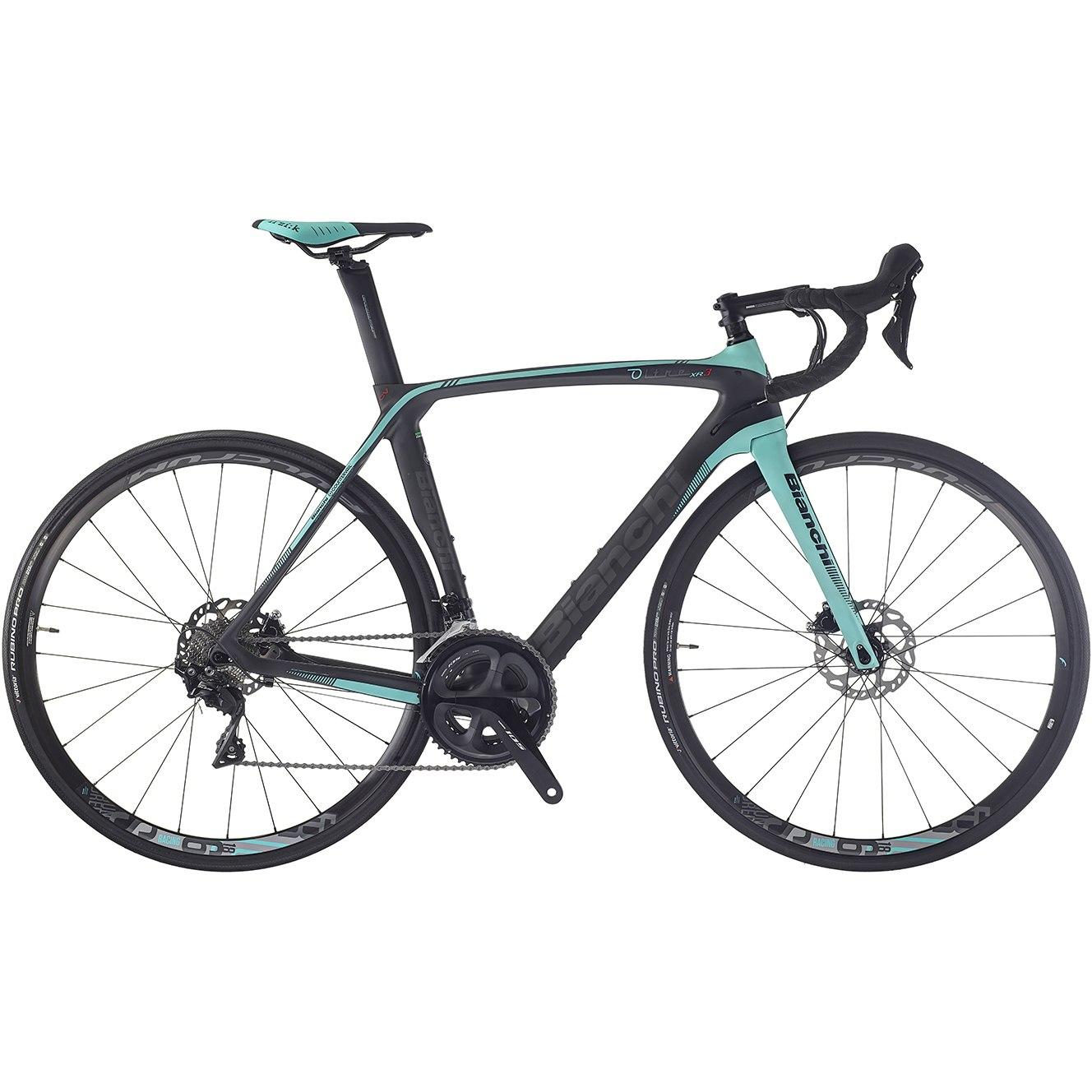 Bianchi OLTRE XR.3 CV DISC 105 Roadbike - 2019 - black/ck16-graphite matt (1Z)