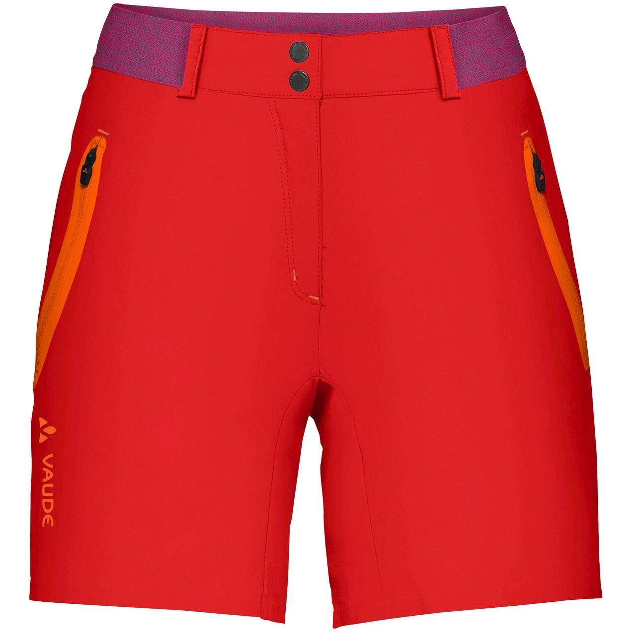 Vaude Scopi LW Damen-Shorts II - mars red