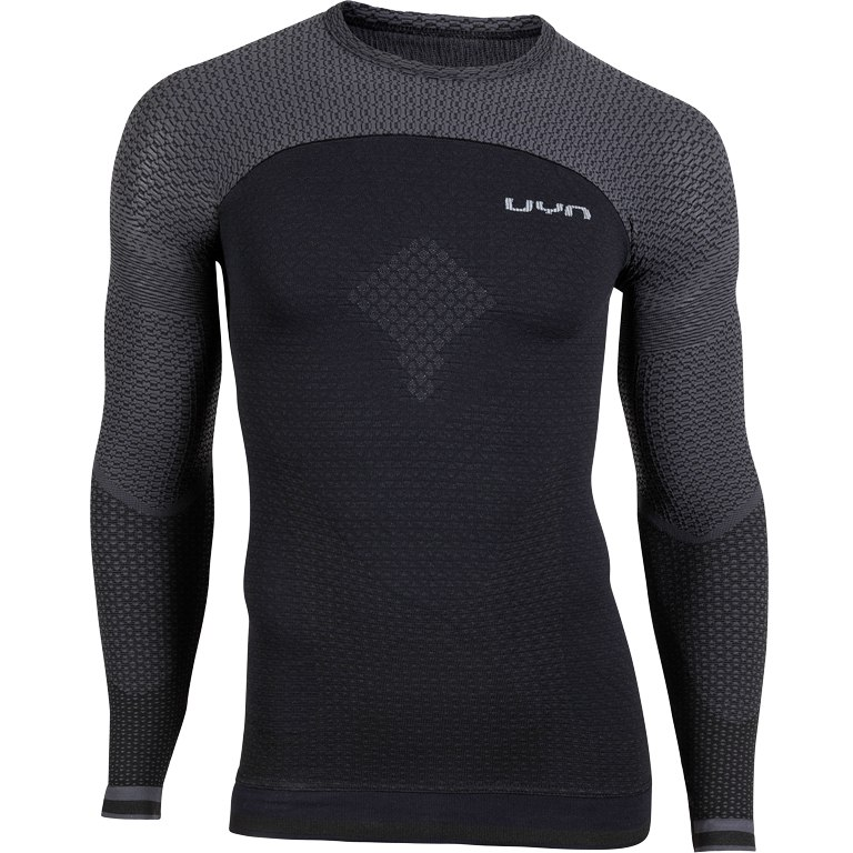 UYN Alpha Running Longsleeve Shirt - blackboard/charcol