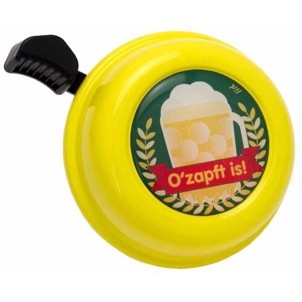 Liix Colour Bell Fahrradklingel - O zapft is Yellow