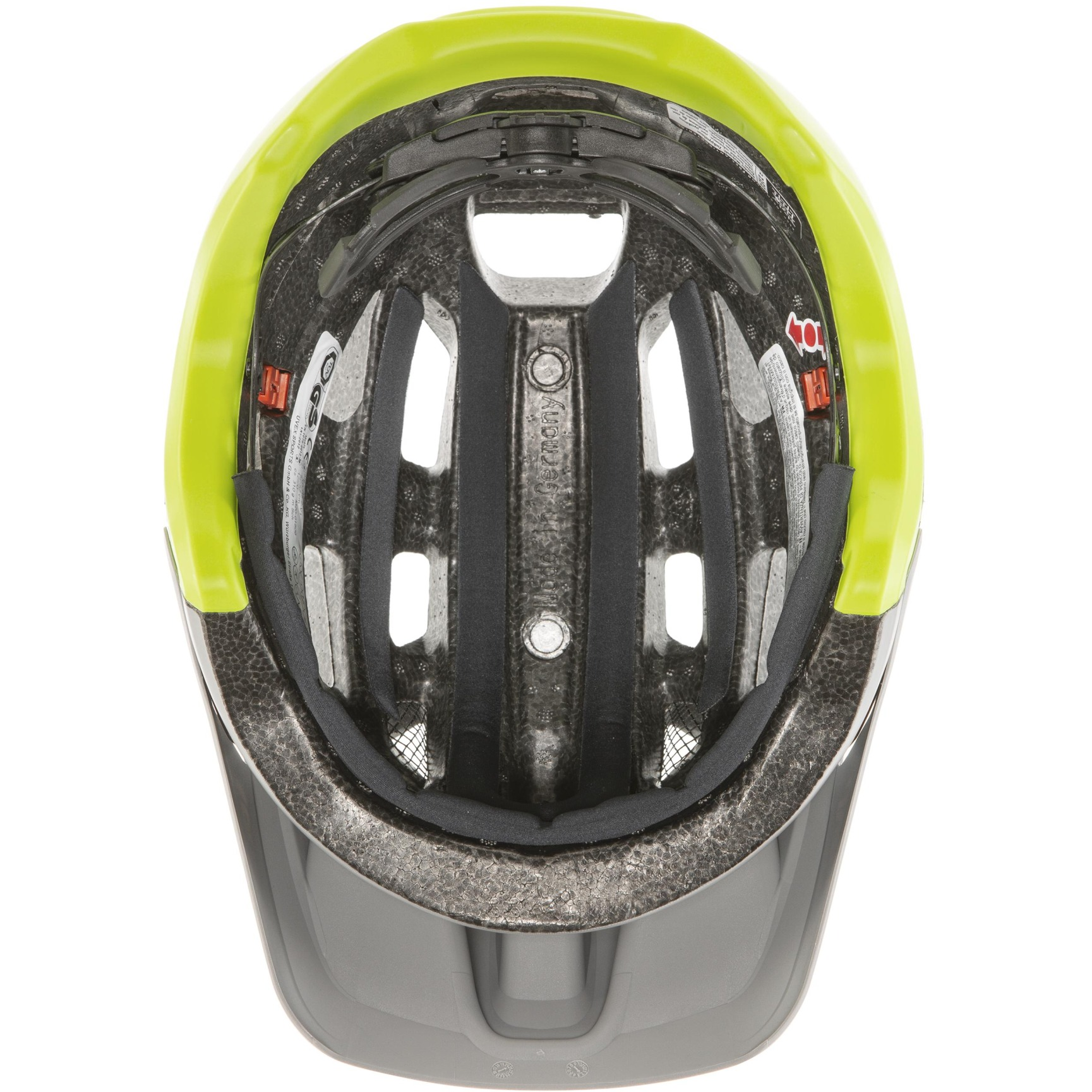 Image of Uvex finale 2.0 Helmet - rhino-neon yellow mat