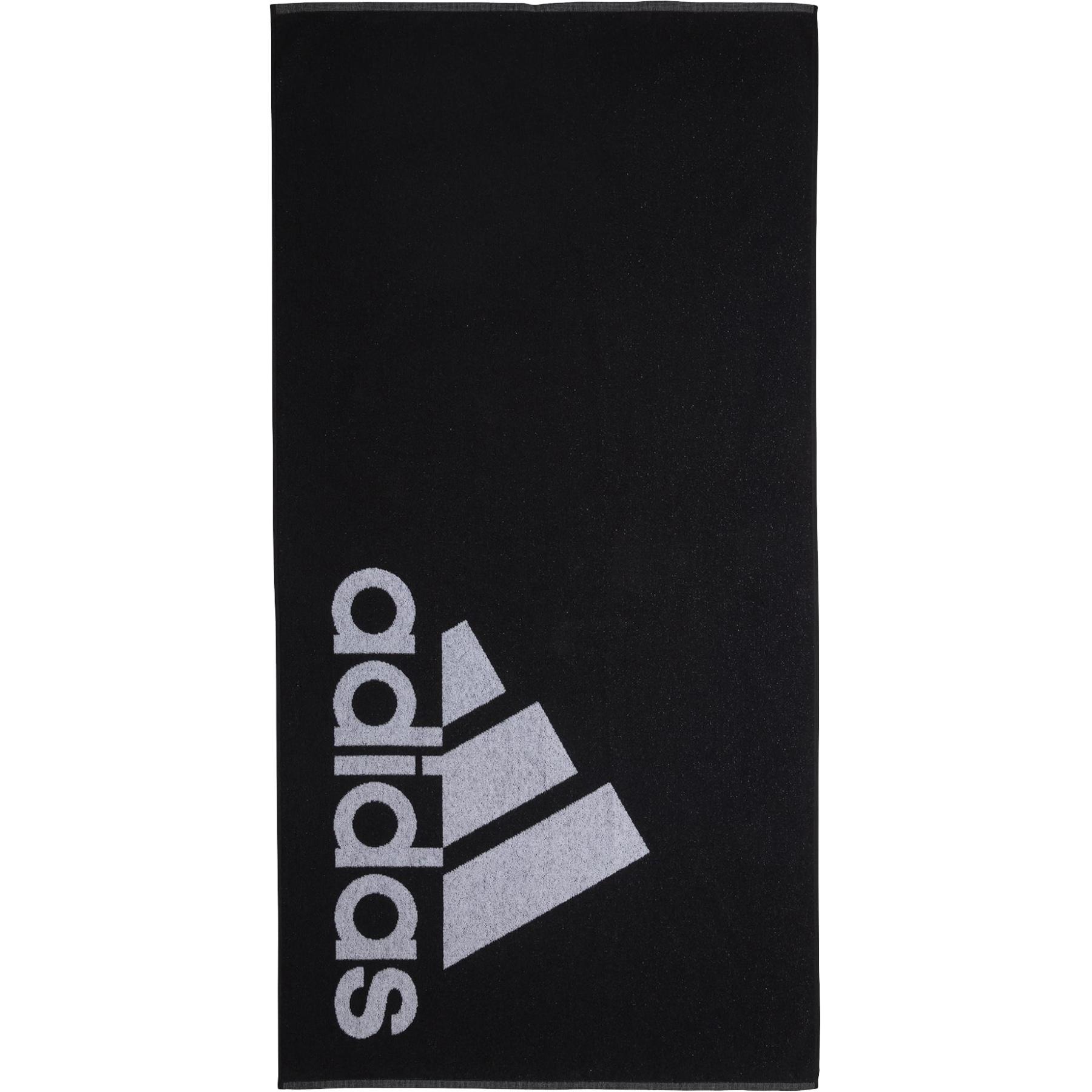 adidas Towel Large - black/white DH2866