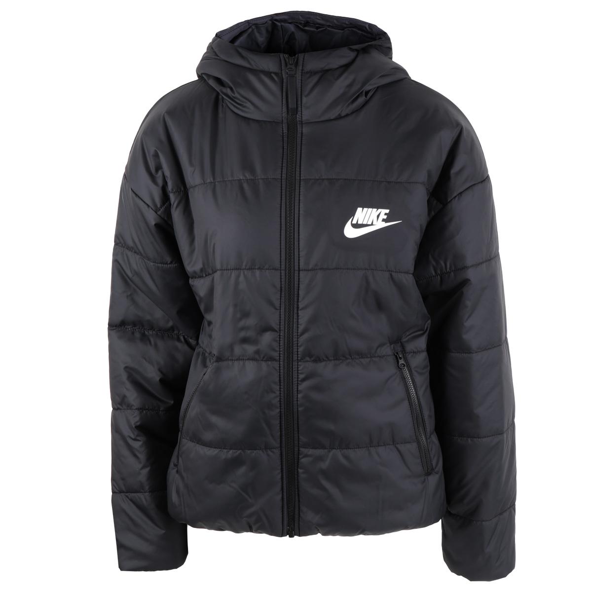 Foto de Nike Sportswear Chaqueta con Capucha para Mujer - black/white/white CZ1466-010