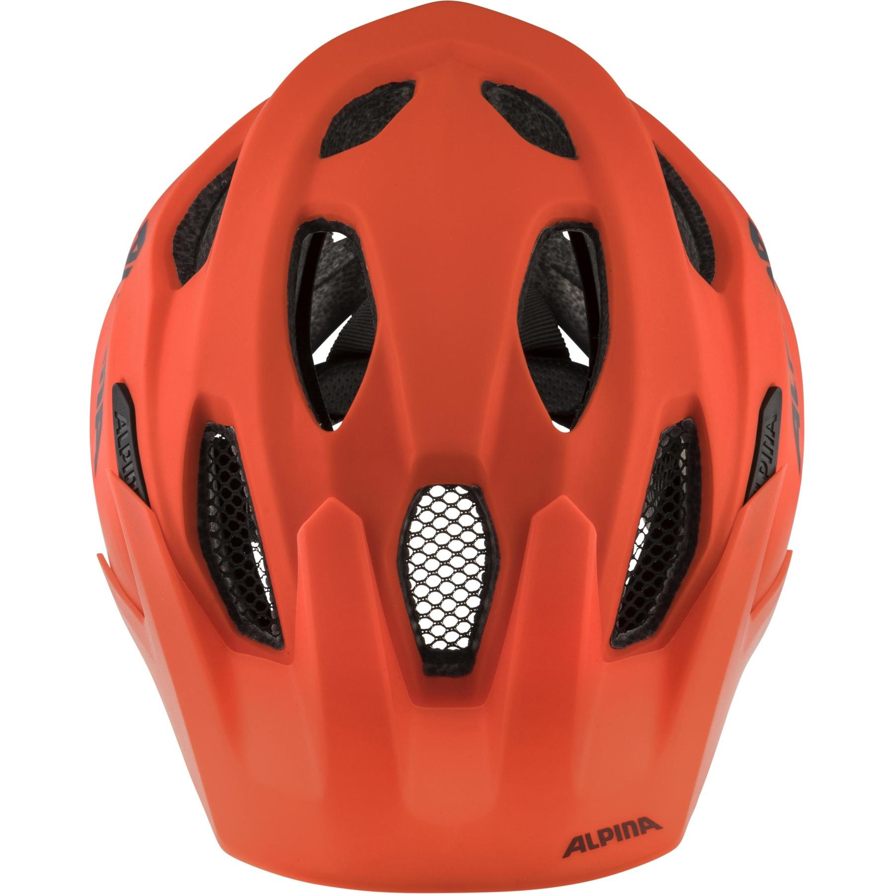 Image of Alpina Carapax JR. Kids Helmet - pumpkin-orange matt