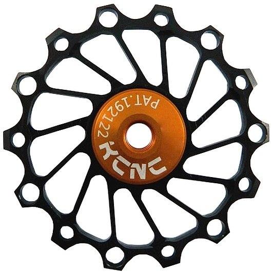 KCNC Jockey Wheels Narrow / Wide Titanium with Ceramic Bearings