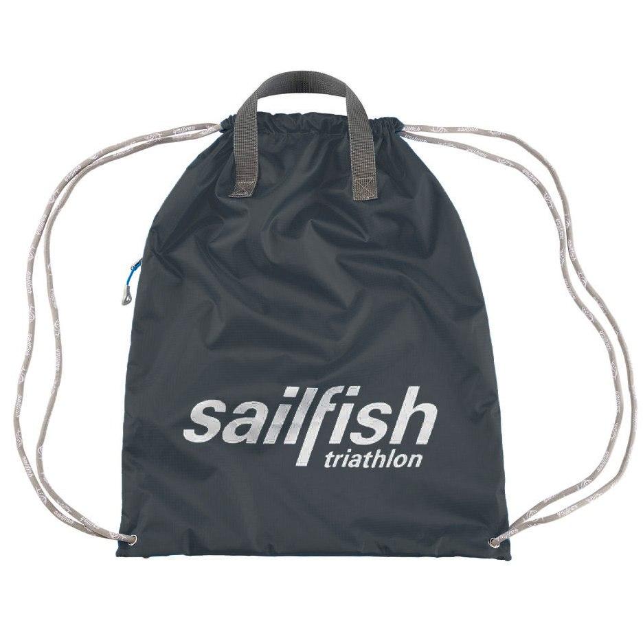 sailfish Turnbeutel - schwarz