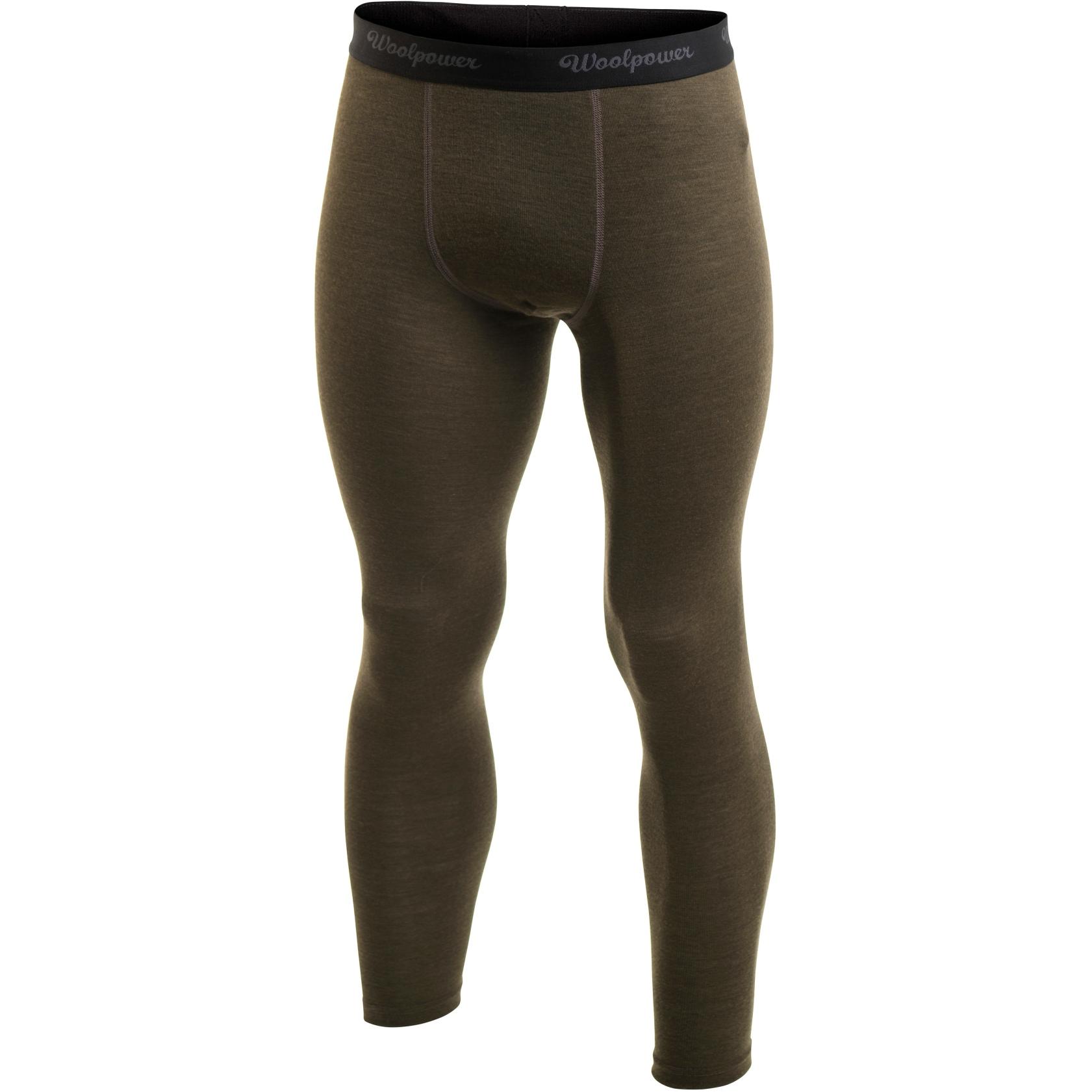 Woolpower Long Johns LITE Underpants/Tights - pine green
