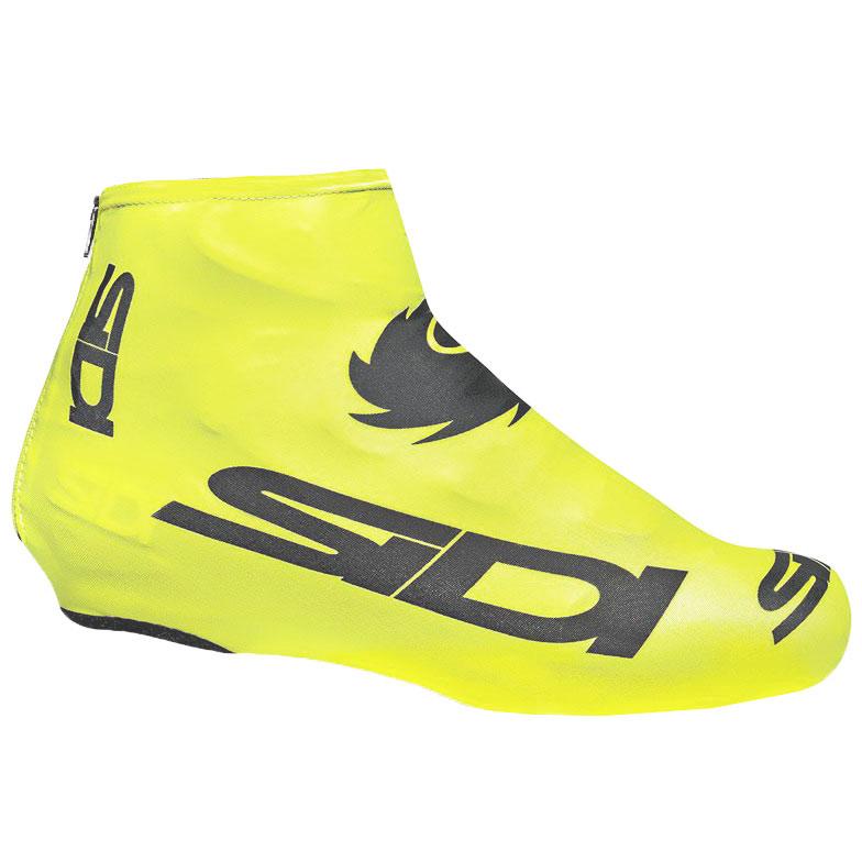Sidi Chrono Shoe Cover - yellow fluo