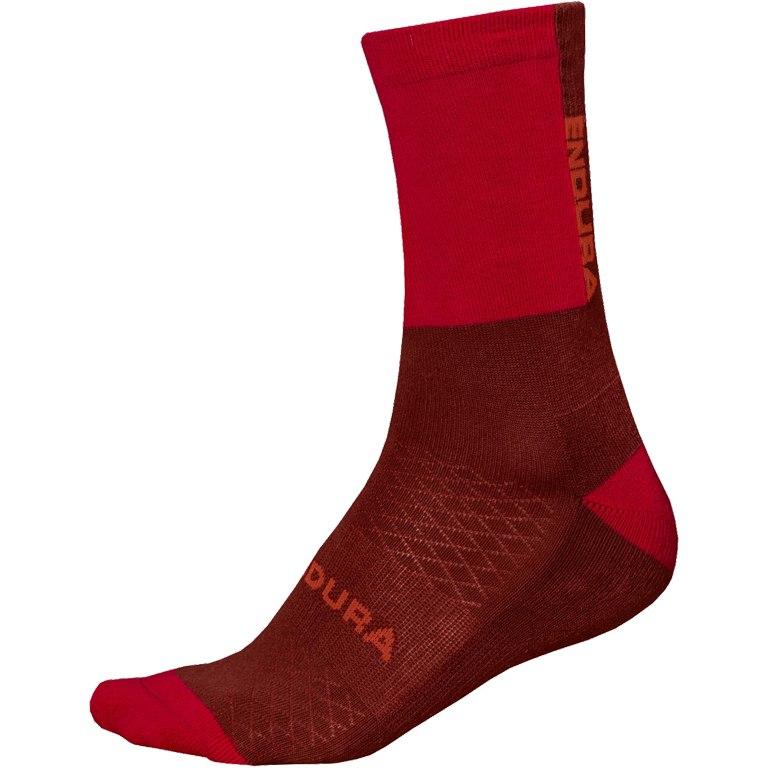 Image of Endura BaaBaa Merino Winter Sock (1-Pack) - rust red