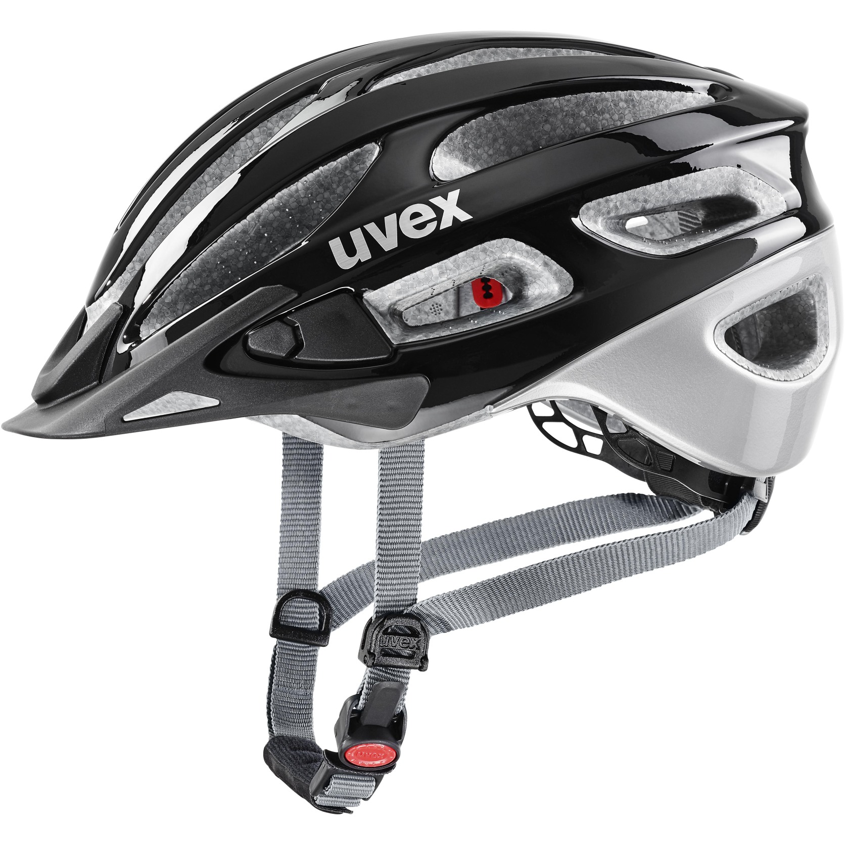 Uvex true Helmet - black-silver