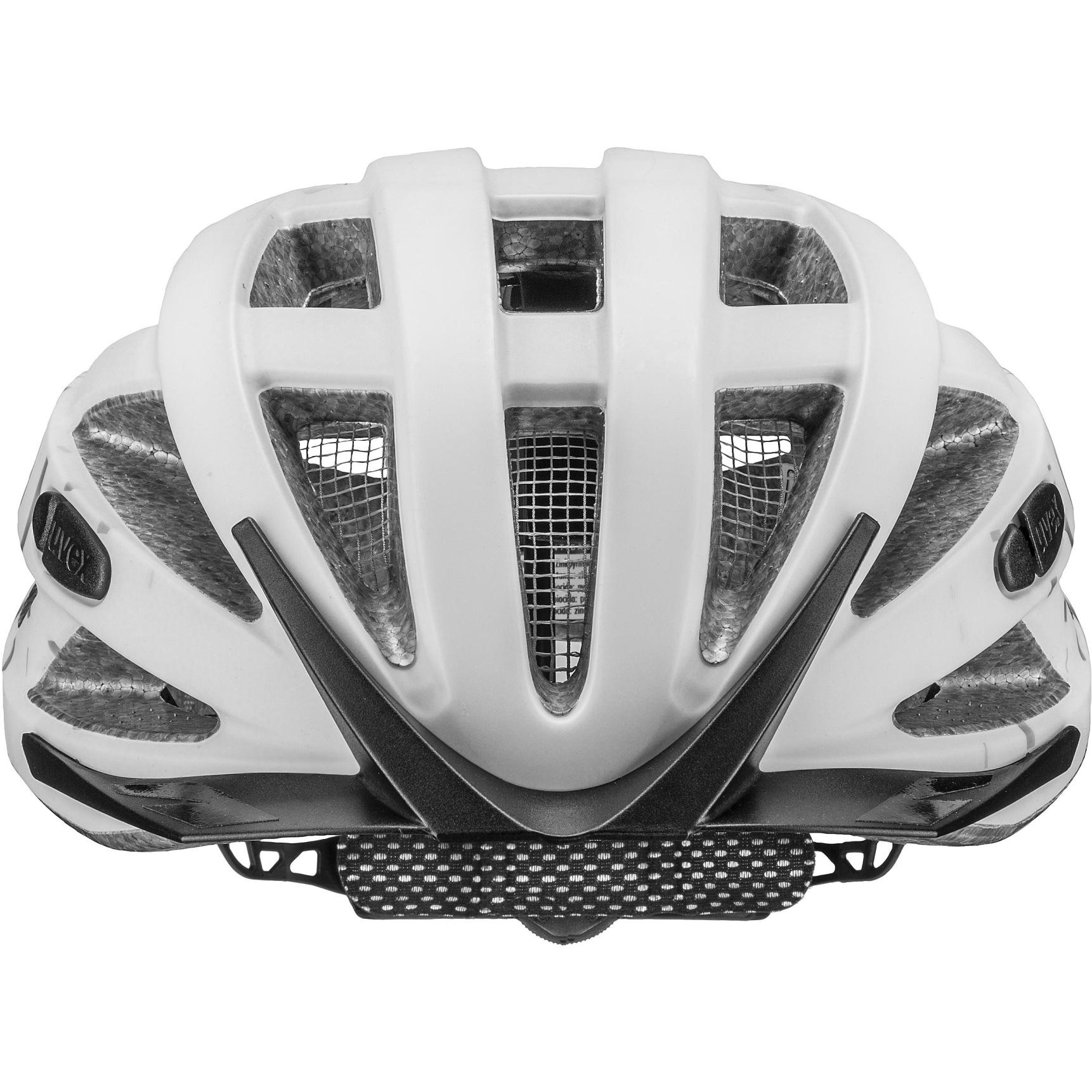 Image of Uvex city i-vo Helmet - white-black mat