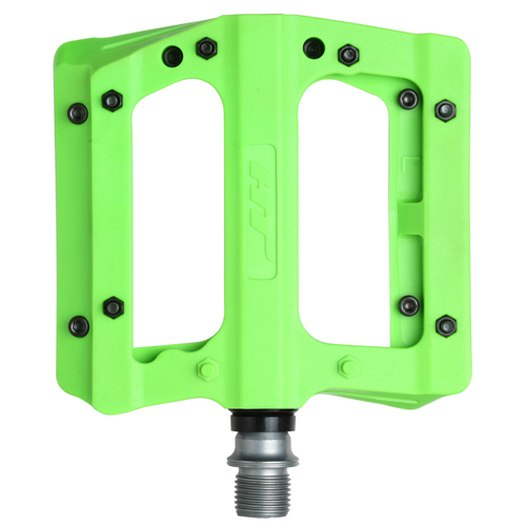 Produktbild von HT PA12 NANO P Flat Pedal Aluminium - grün