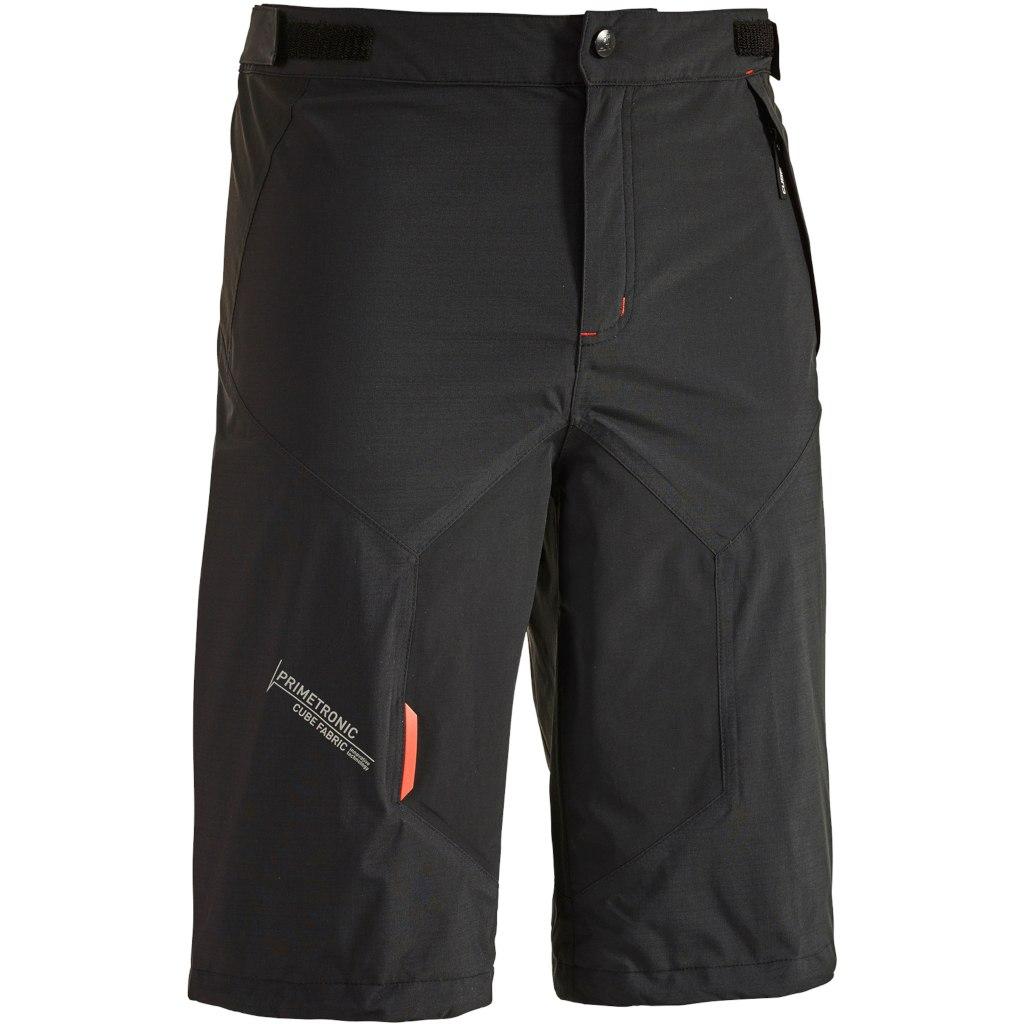 CUBE BLACKLINE Rain Shorts - black´n´grey