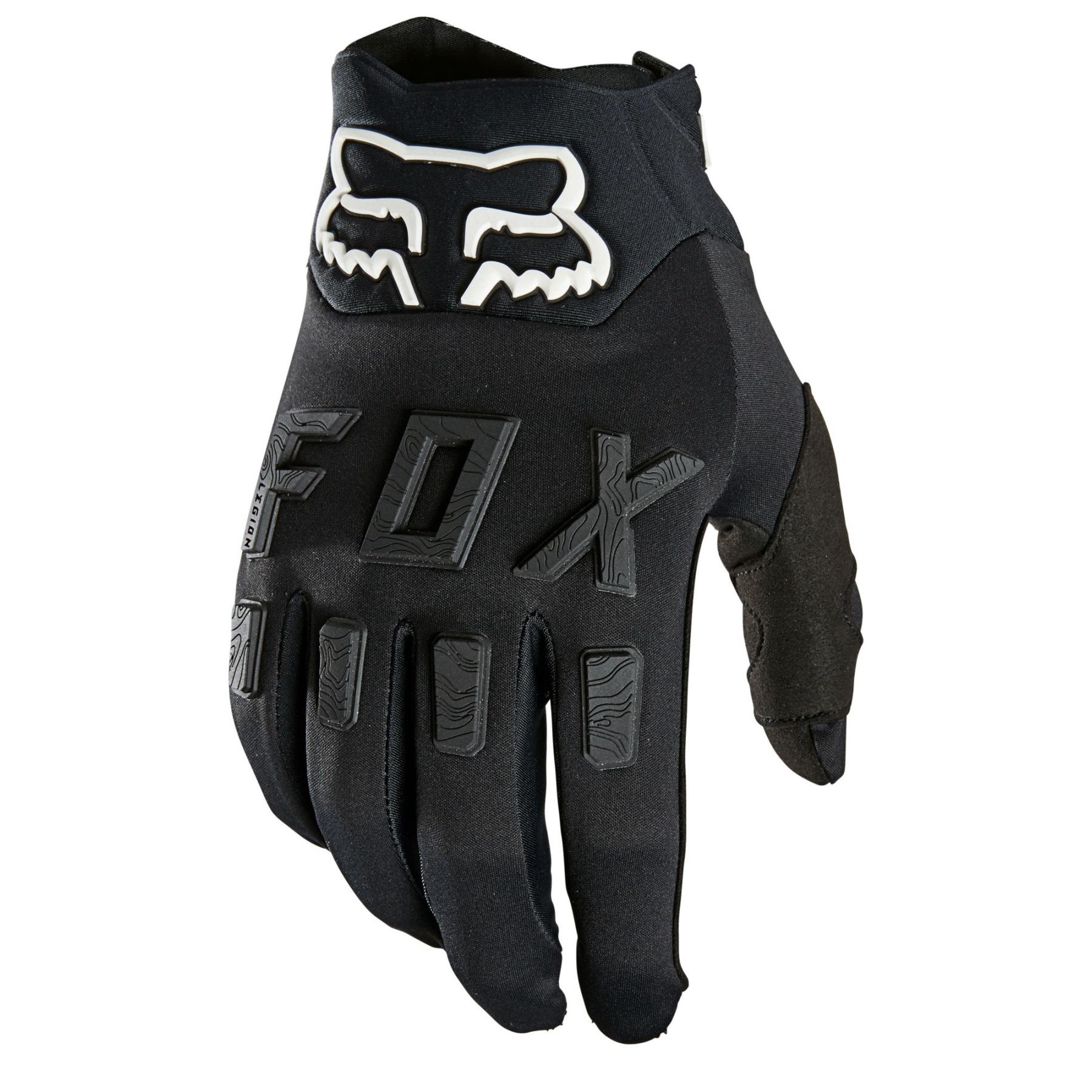 FOX Legion Water MTB Full Finger Gloves - black