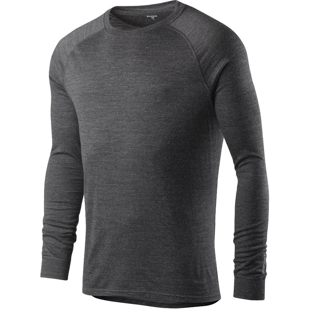Houdini Men's Activist Crew Long-Sleeve Shirt - True Black