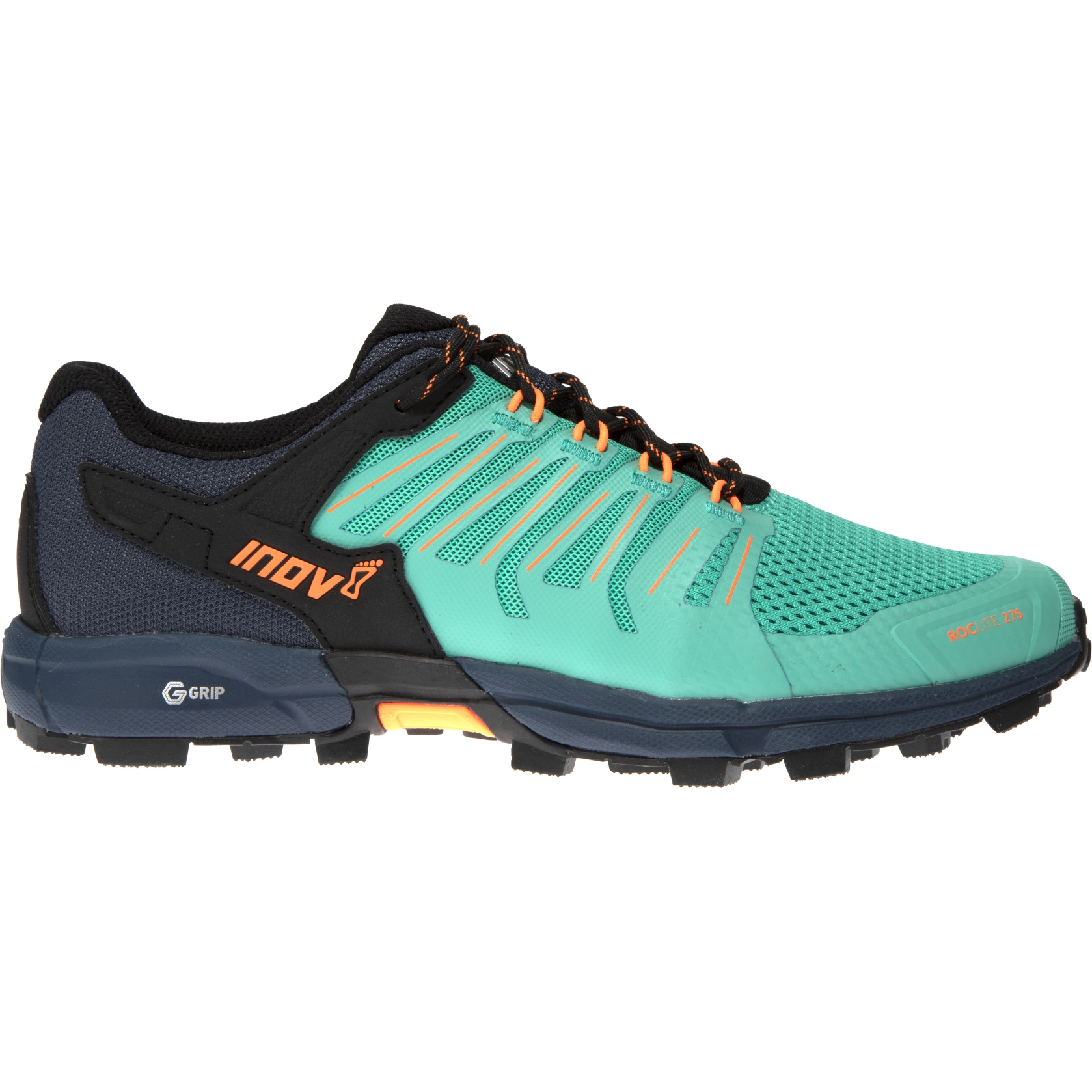 Image of Inov-8 Roclite G 275 Women's Running Shoe - teal/navy