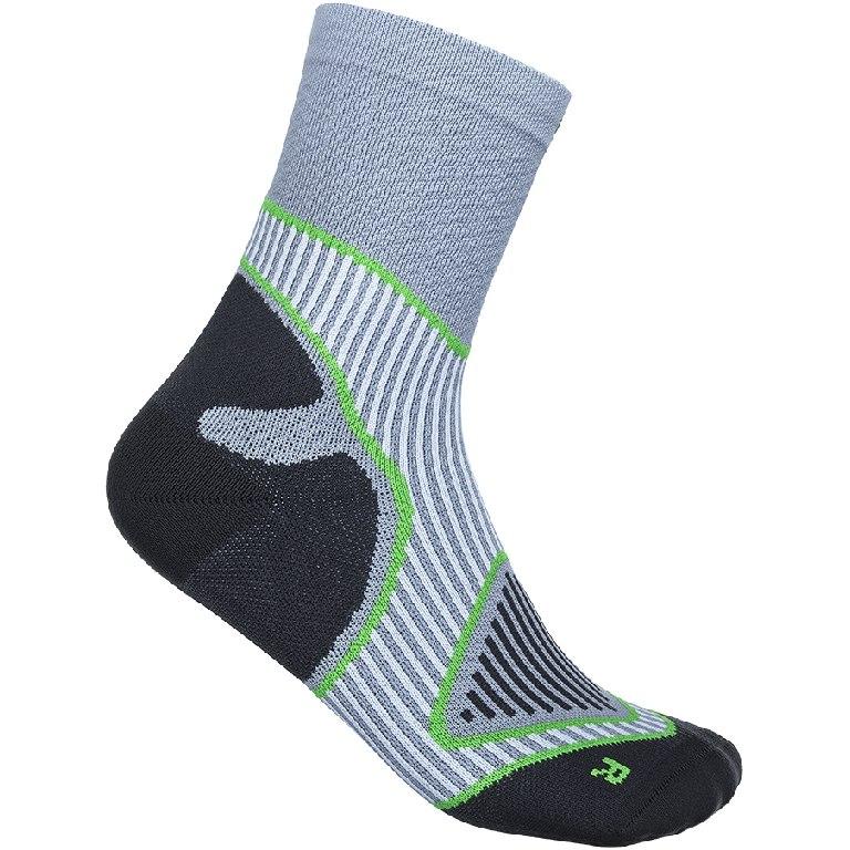 Bauerfeind Outdoor Performance Mid Cut Socks - grey