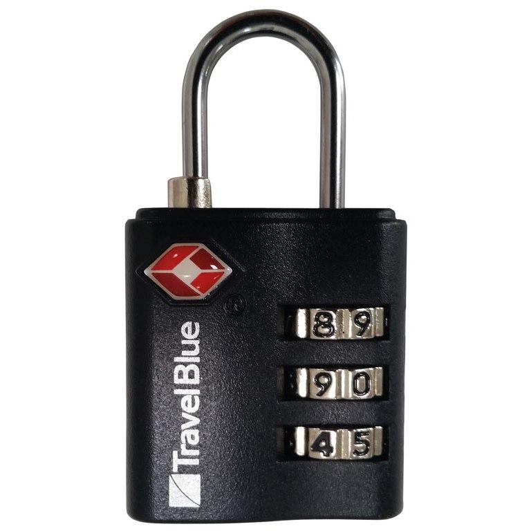 Vaude TSA Combination Lock - silver/black