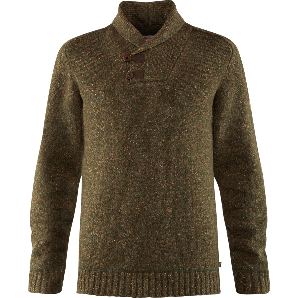 Image of Fjällräven Lada Sweater - dark olive