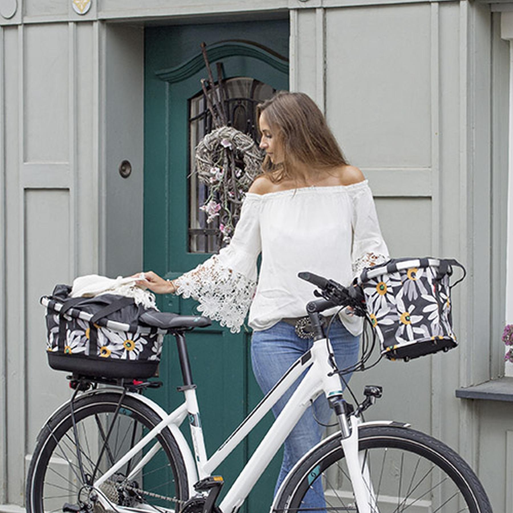 Bild von KLICKfix Bikebasket Fahrradkorb - Autumn 1