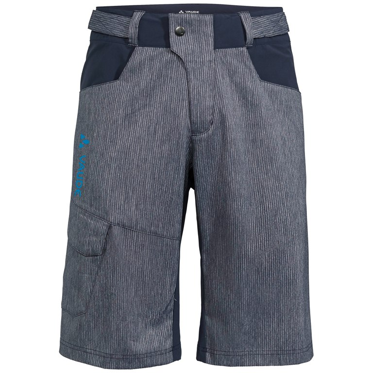 Vaude Men's Tremalzo Stripes Shorts - eclipse