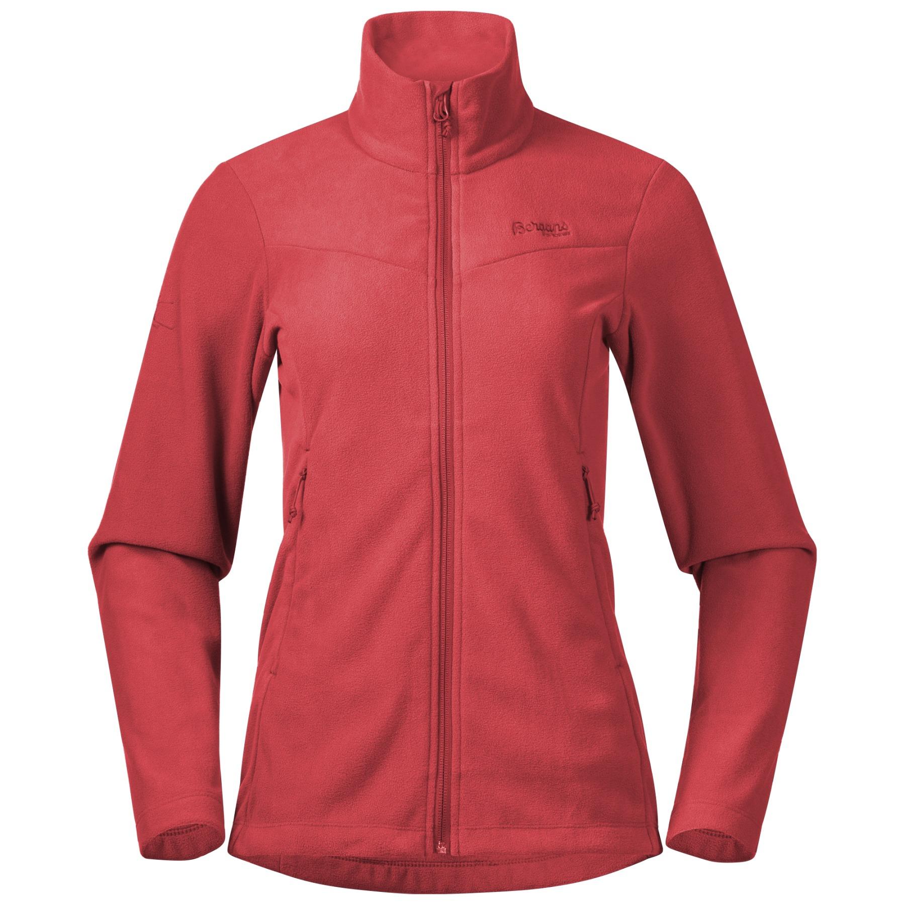 Produktbild von Bergans Finnsnes Fleece Damenjacke - light dahlia red