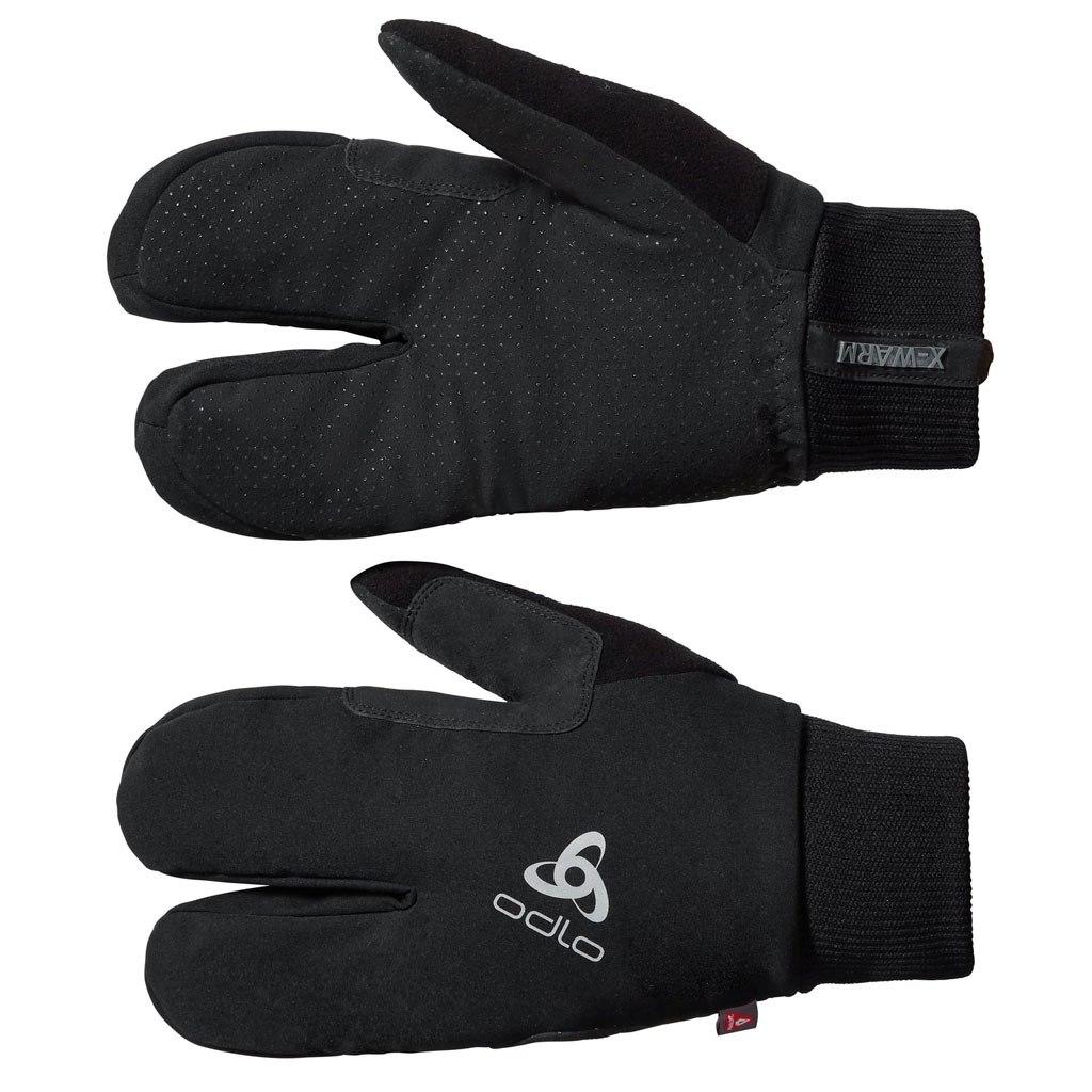 Picture of Odlo ELEMENT X-WARM Gloves 777640 - 15000 black