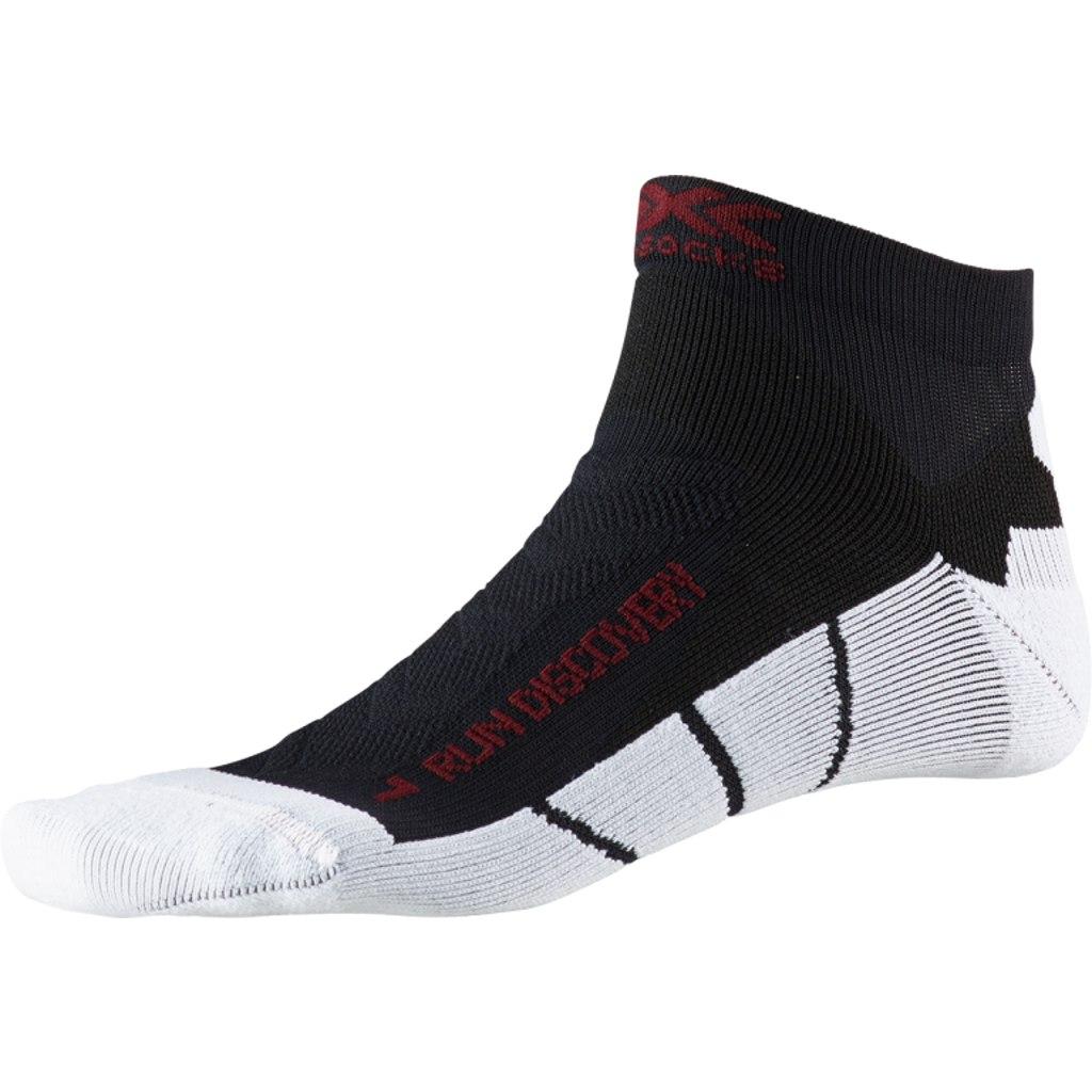 Bild von X-Socks Run Discovery Laufsocken - opal black/arctic white