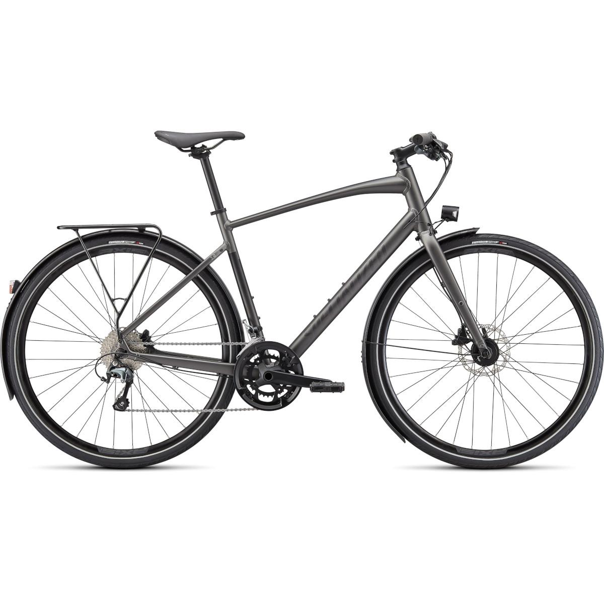 Specialized SIRRUS 3.0 EQ - Bicicleta de trekking - 2021 - smoke / black reflective